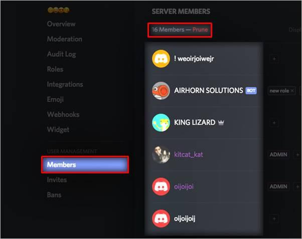 podar-miembros-servidor-discord