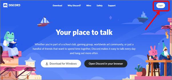login-discord-web-browser