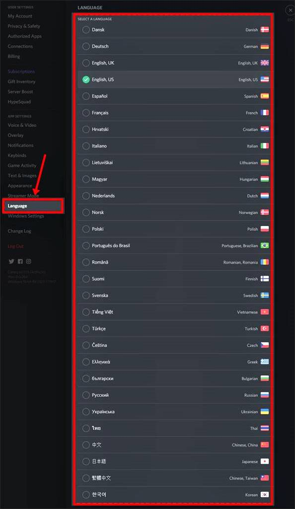 discord-language-list
