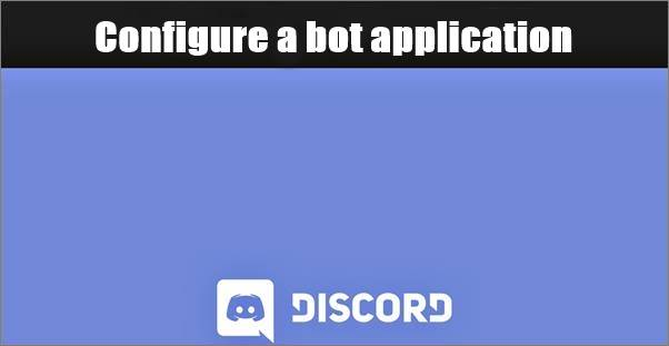 how to configure a bot in discord