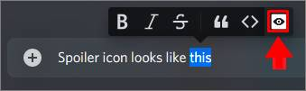 spoiler icon